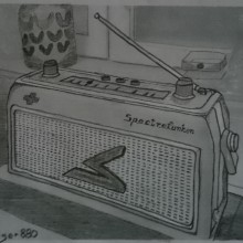 Spectrefunken broadcast radio receiver